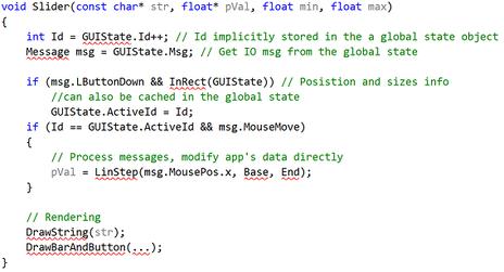 Immediate mode GUI - Behind the Pixels
